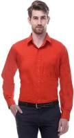 Shine Basics Formal Shirts (Men's) - Shine Basics Men's Solid Formal Orange Shirt