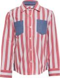 The Cranberry Club Boys Striped Casual R...