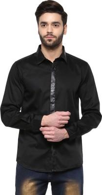 Yepme Men's Printed Party Black Shirt