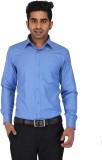 Prague Fashion Men's Solid Formal Blue S...