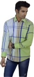 Big Brother Men's Checkered Casual Multi...