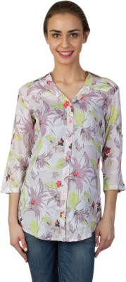 Today Fashion Women's Printed Casual Multicolor Shirt