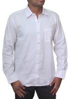 Spark Formal Shirts (Men's) - Spark Men's Solid Formal White Shirt