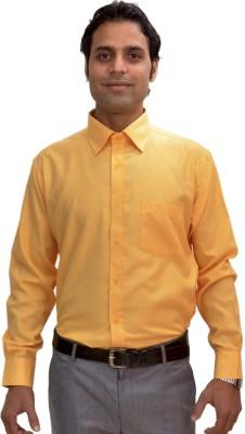 AVS Polo Men's Solid Casual Gold Shirt