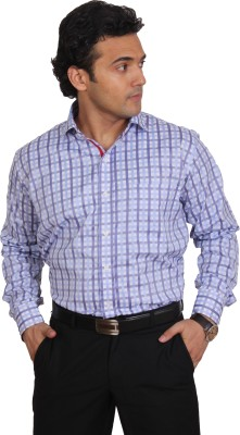 Brumax Men's Checkered Formal Multicolor Shirt