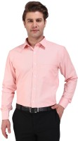 Outdoor Formal Shirts (Men's) - Outdoor Men's Striped Formal Orange Shirt