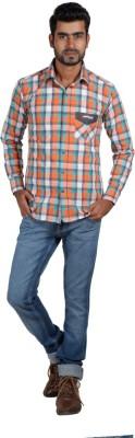 Sealion Men's Checkered Casual Multicolor Shirt