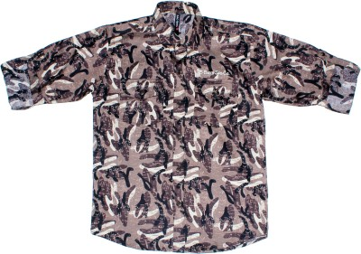 BAD BOY Boy's Printed Casual Multicolor Shirt
