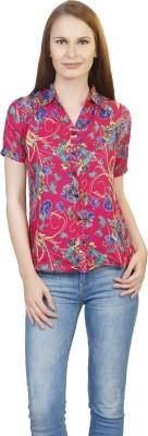 kellan Women's Graphic Print Casual Multicolor Shirt