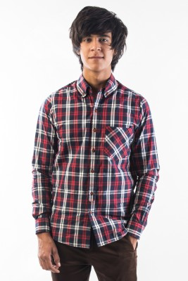 Srota Mens Checkered Casual Multicolor Shirt