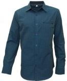 Darium Men's Checkered Casual Blue, Blac...