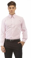 Jogur Formal Shirts (Men's) - Jogur Men's Striped Formal Pink Shirt