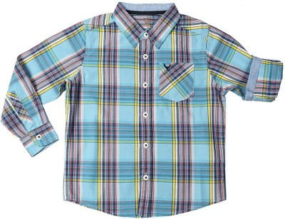 Allen Solly Men's Checkered Casual Multicolor Shirt