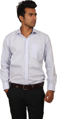 Brumax Men's Solid Formal Light Blue Shirt