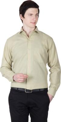 Robin Rider Men's Solid Formal Grey Shirt
