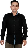 Gayo Fashion Men's Solid Casual Black Sh...