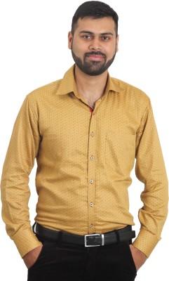 The Standard Men's Printed Formal Multicolor Shirt