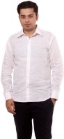Saadgi Formal Shirts (Men's) - Saadgi Men's Solid Formal White Shirt