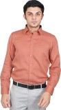 Kriss Men's Solid Casual Pink Shirt