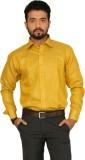 Indian Weller Men's Self Design Formal Y...
