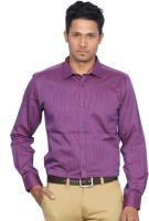Dindian Club Formal Shirts (Men's) - D'Indian Club Men's Striped Formal Multicolor Shirt