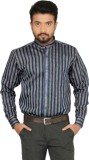 Indian Weller Men's Striped Casual Multi...