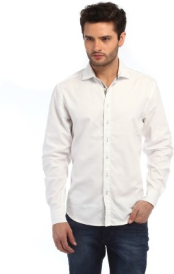 Red Tape Men's Solid Casual White Shirt