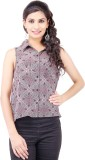 Pear Blossom Women's Printed Casual Brow...