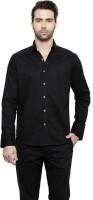 Desinvolt Formal Shirts (Men's) - Desinvolt Men's Solid Formal Black Shirt