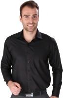 Magson Elite Formal Shirts (Men's) - Magson Elite Men's Solid Formal Black Shirt