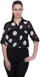 Stylestone Women's Polka Print Casual Wh...
