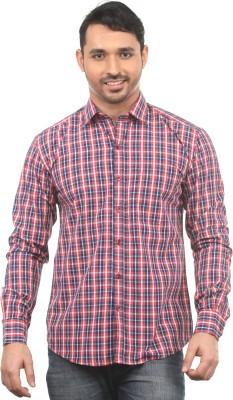 Chill Men's Checkered Formal Multicolor Shirt