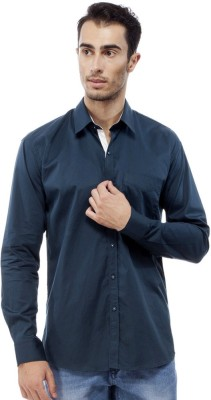 Trendy Bandey Men's Solid Casual Blue Shirt