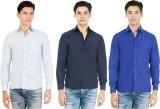 Atmosphere Men's Solid Formal Light Blue...
