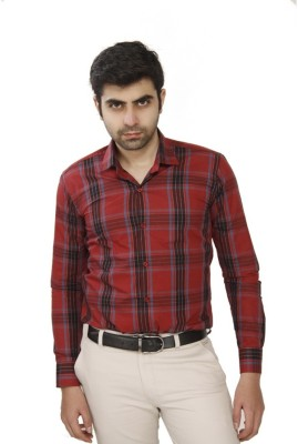 JMD Men's Checkered Casual Multicolor Shirt