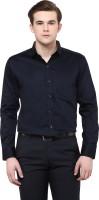 Upbeat Formal Shirts (Men's) - Upbeat Men's Solid Formal Blue Shirt