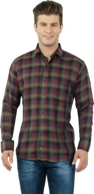 Lewis Marker Men,s Checkered Formal Multicolor Shirt