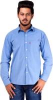 Spex Jet Formal Shirts (Men's) - Spex Jet Men's Solid Formal Light Blue Shirt