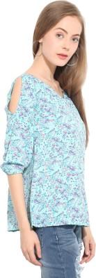 Lucero Women's Printed Casual Multicolor Shirt