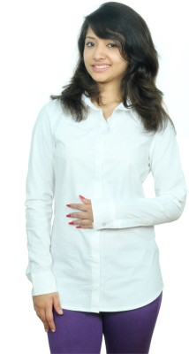 Neburu Women's Solid Casual Shirt