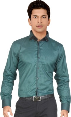 Red Country Men's Checkered Casual Green Shirt