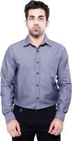 Jeetenterprises Formal Shirts (Men's) - jeetenterprises Men's Self Design Formal Blue Shirt