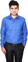 Culture Plus Formal Shirts (Men's) - Culture Plus Men's Checkered Formal Blue, Blue Shirt
