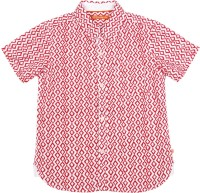 Scullers Kids Boys Printed Casual Red Shirt