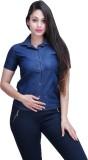 FX Jeans Co Women's Solid Casual Denim B...