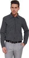 Urban Nomad By Inmark Formal Shirts (Men's) - Urban Nomad by Inmark Men's Polka Print Formal Black Shirt