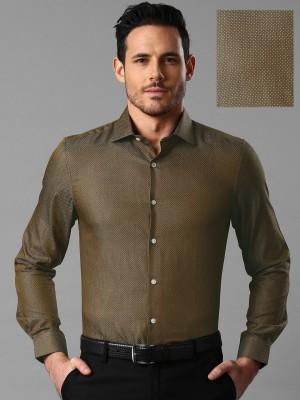 Invictus Men's Printed Casual Brown Shirt