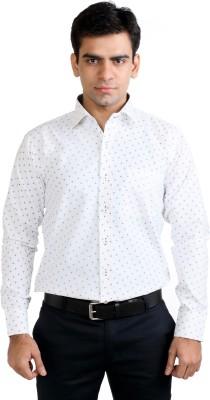 Basil Men's Printed Formal Multicolor Shirt