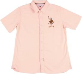 Us Polo Kids Boys Casual Shirt