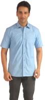 Sterling Formal Shirts (Men's) - Sterling Men's Self Design Formal Light Blue Shirt